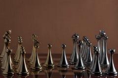 Partito di scacchi Immagini Stock Libere da Diritti