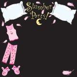 Partito di Slumber! Immagini Stock Libere da Diritti