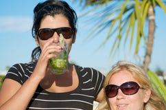 Partito di vacanza sull'isola Fotografie Stock Libere da Diritti