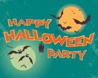 Partito felice di Halloween Immagine Stock