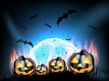 Partito felice di Halloween ENV 10 Fotografie Stock