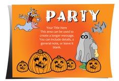 Partito Halloween Fotografia Stock