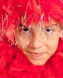 Partito rosso teenager Immagini Stock