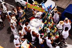 Partito tipico di festa di Romeria Fotografia Stock
