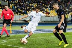 "Partizan do †de Kyiv do dínamo do fósforo de futebol da liga do Europa do UEFA "", Dece Fotos de Stock Royalty Free"