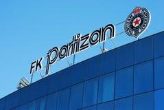 Partizan Stadium, Belgrade Stock Photo