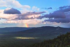 Partk national de Taganay, Ural Images stock