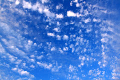 Partly Cloudy Background Stock Photos
