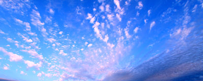 Partly Cloudy Background Stock Images