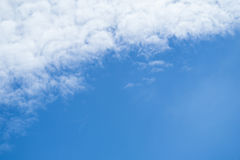 Partly cloudy in the morning. Royalty Free Stock Images
