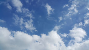Partly cloudy skies Stock Photo