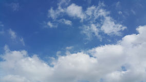 Partly cloudy skies Royalty Free Stock Photos