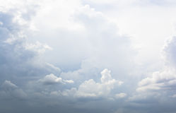 Partly cloudy sky Stock Photography