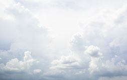 Partly cloudy sky Royalty Free Stock Photo