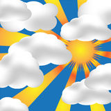 Partly Cloudy Stock Images