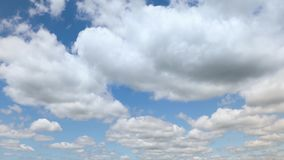 Partly Cloudy Timelapse 01 stock footage
