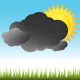 Partly Sunny Weather Royalty Free Stock Images