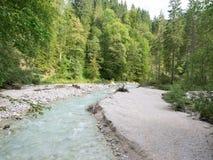 Partnach Gorge, bavaria, Germany Stock Images
