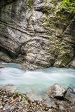 Partnachklamm Royalty Free Stock Photography