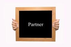 partner royalty-vrije stock afbeelding