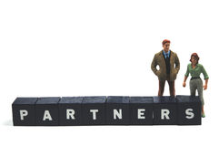 Partner Lizenzfreies Stockfoto