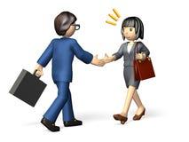 Partner biznesowy ilustracja wektor