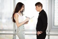 Partner biznesowy Zdjęcie Royalty Free