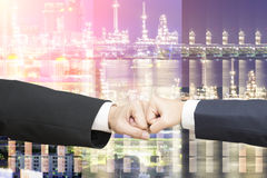Partner biznesowy prowadzi sukces dla biznesu Zdjęcia Stock