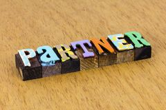 Free Partner Business Personal Partnership Teamwork Team Agreement Success Royalty Free Stock Photography - 164016937