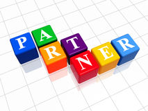 Partner in colour 2 Royalty Free Stock Image