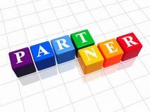 Partner in colour Stock Photo