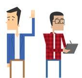 Partner costanti di progettazione Fotografia Stock