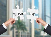 Partner en schipconcept royalty-vrije stock fotografie