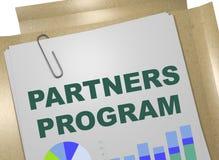 Partner-Programmkonzept Stockfotografie