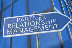 Partner Relationship Management Stock Image
