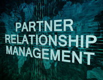 Partner Relationship Management Royalty Free Stock Photos