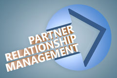 Partner Relationship Management Stock Photo