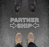 Partner ship Royalty Free Stock Photo