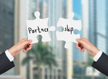 Partner and ship concept royalty free stock photography