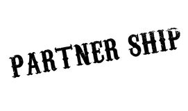 Partner Ship rubber stamp Royalty Free Stock Images