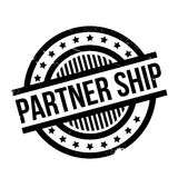 Partner Ship rubber stamp Royalty Free Stock Image