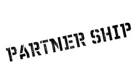 Partner Ship rubber stamp Stock Image