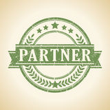 Partner stamp Royalty Free Stock Images