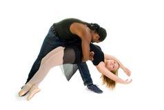 Partner urbani di ballo fotografia stock libera da diritti