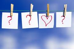Partnera wybór - miłości pojęcie Obrazy Royalty Free