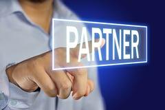 Partnerconcept royalty-vrije stock fotografie
