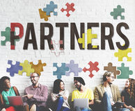 Partners Alliance Collaboration Teamwork Team Concept.  Royalty Free Stock Image
