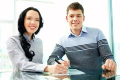 Partners in business Stock Photo