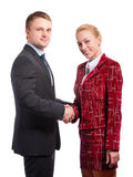 Partners in business Royalty Free Stock Images