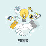 Partners concept Stock Images